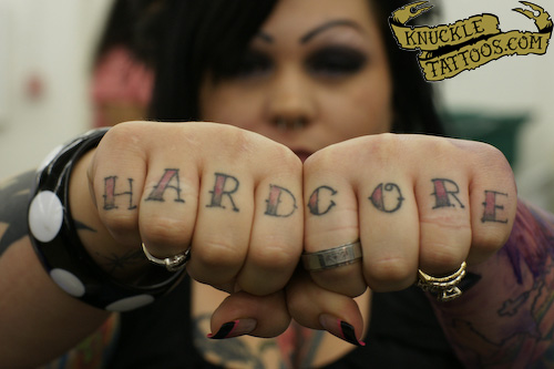 hardcore tattoos. Hardcore - UV BLACKLIGHT